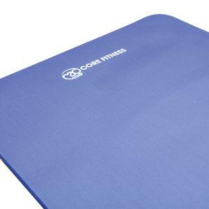 Blauw Core Fitness Mat voor pilates 10 mm dik