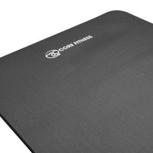 Core Fitness mat in de kleur zwart 10 mmd ik