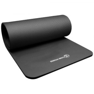 Fitness mat 10 mm dik voor demping en grip