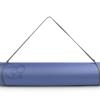 Yoga en pilates mat evolution in de kleuren grijs en blauw