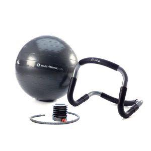 Halo Trainer Plus van STOTT inclusief stabiliteitsbal en pomp is online te koop bij Yoga-Pilatesshop