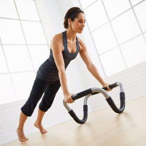 STOTT Halo Trainer Plus is online verkrijgbaar bij Yoga-Pilatesshop inclusief stabiliteitsbal en pomp