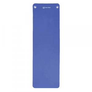 Fitness mat 10 mm blauw voor pilates, yoga en fitness