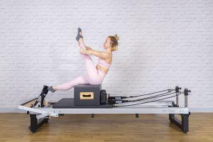 Zit box voor pilatesreformer van het merk Align-Pilates