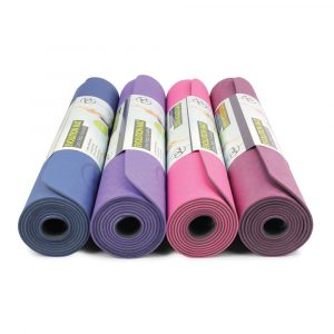 evolution matten in allerelei kleuren 4 mm dikte te koop bij yoga-pilatesshop