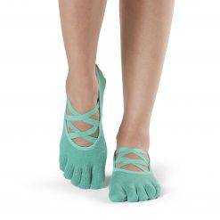 Antislip Sokken Elle Met Tenen Emerald - ToeSox