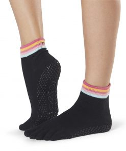 Antislip Sokken Met Tenen In Retro - ToeSox