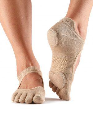 Antislip Sokken Met Tenen Prima Bellarina Nude - ToeSox