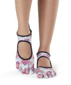 Antislip Sokken Bellarina Met Tenen In Posy - ToeSox