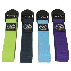 Standaard Yoga Riem Blauw - 2 m