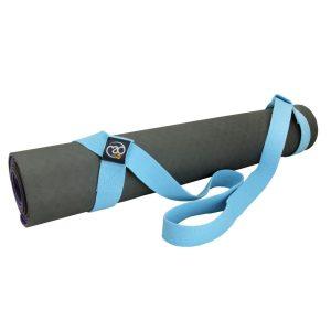 heb je moeite om je yogamat mee te nemen; probeer deze yogamat draagriem eens