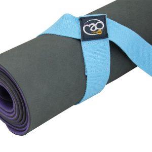 neem je yogamat eenvoudig, gemakkelijk en snel mee met deze yoga mat draagriem