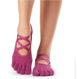 Elle Groovy antislip sokken met tenen koop je voordelig, veilig en snel online bij Yoga-Pilatesshop