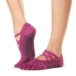 antislip sokken met tenen in het model Elle Groovy zijn online te koop bij Yoga-Pilatesshop