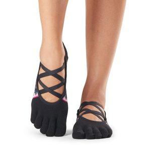 antislip yoga sokken in het model Elle - Woodstock hebben net dat extra's wat je zoekt tijdens je yoga, pilates of barre les