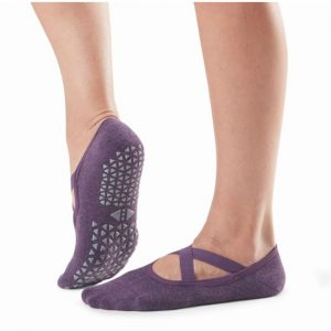 yoga sokken antislip Chloe Lavender bestel je direct online bij Yoga-Pilatesshop