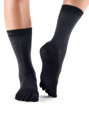 sokken met tenen Casual Crew Onyx ToeSox zijn online verkrijgbaar bij Yoga-Pilatesshop