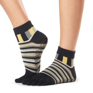 yoga sokken met tenen en antislip van ToeSox in Ankle King zijn online te koop bij Yoga-Pilatesshop