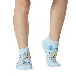 Frozen antislip sokken Elsa voor kids zijn te verkrijgen bij Yoga-Pilatesshop
