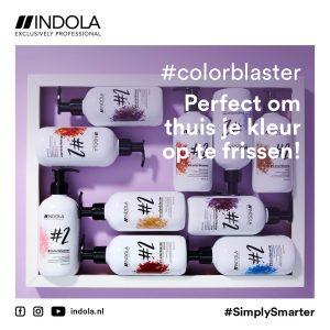Colorblaster is de perfecte conditioner om je haarkleur op te frissen