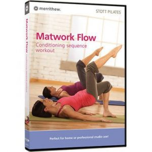 DVD voor pilates oefeningen op de mat