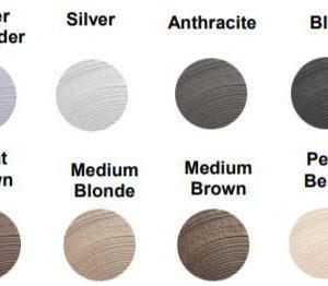 De 12 tinten van de Color Style Mousse