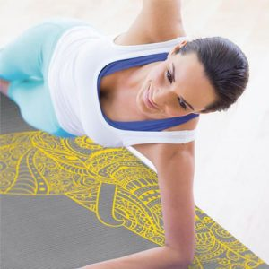 Pilates & Yoga Mat Olifant 6 mm bij Yoga-pilatesshop