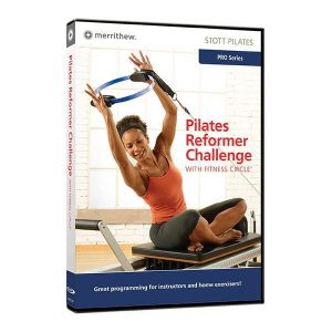 Pilates video Stott DVD reformer challenge te koop bij yoga-pilatesshop