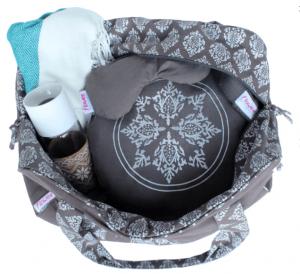 Tas voor yoga of pilates met matbevestiging