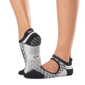 Tavi Noir emma moonflower sokken bij yoga-pilatesshop