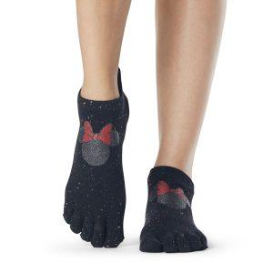 ToeSox Disney confetti minnie antislip sokken