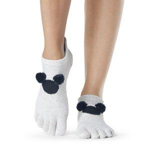 ToeSox Disney sokken Mickey Pompom met antislip