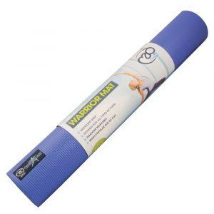 Warrior mat blauw