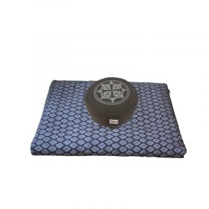 Meditatieset kopen? Zabuton Relax Set Flowee in de kleur grijs