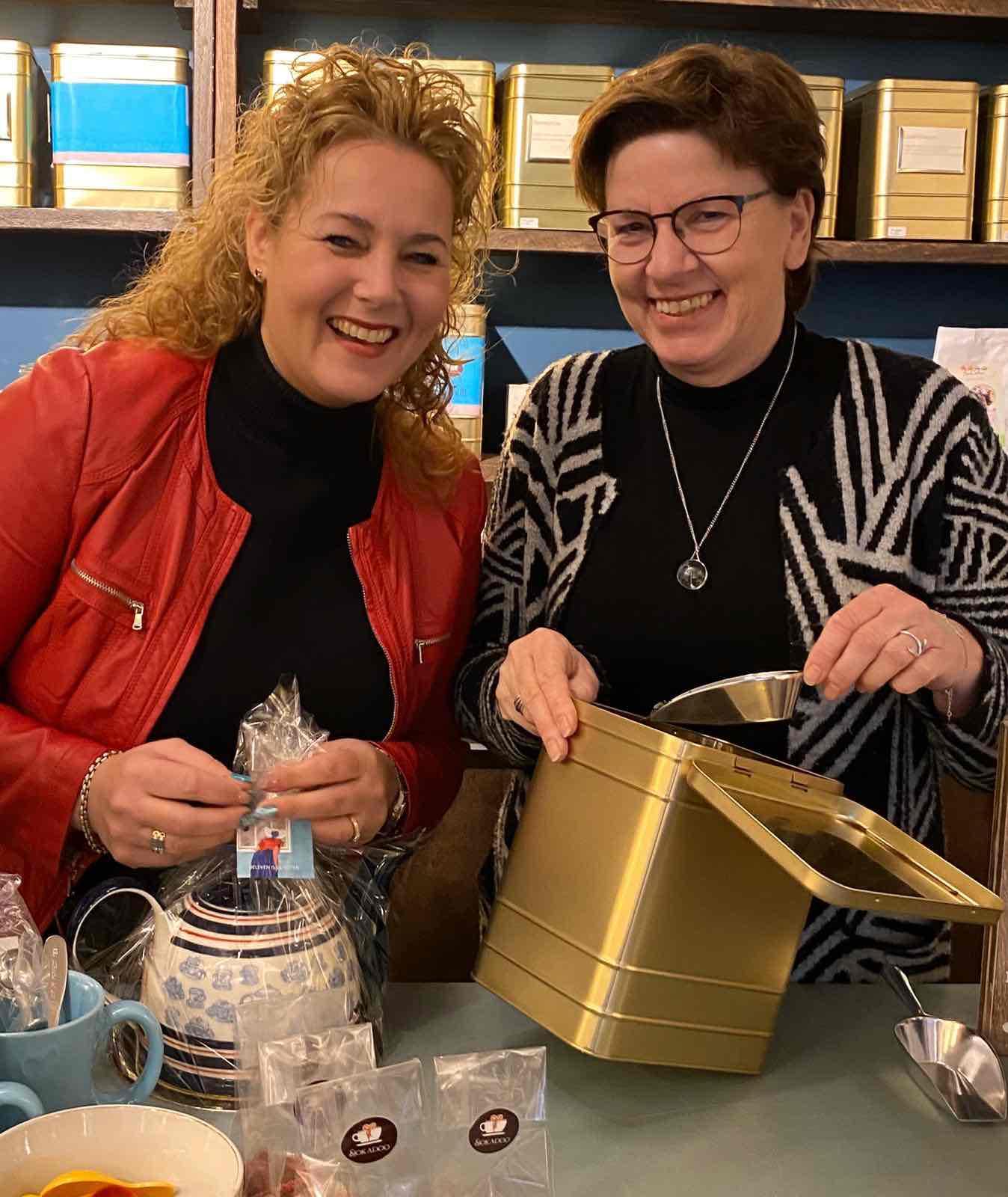 De ondernemers achter Sjokadoo uit Arnemuiden die wij steunen met deze moederdag actie