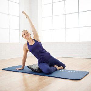 Luxe pilates mat van 15 mm dik verkrijgbaar op yoga-pilatesshop