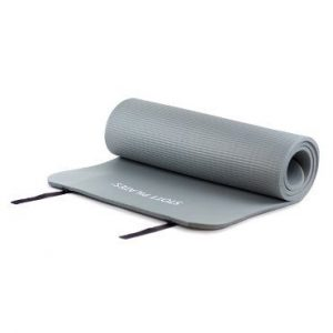Pilates mat 10 mm grijs op yoga-pilatesshop