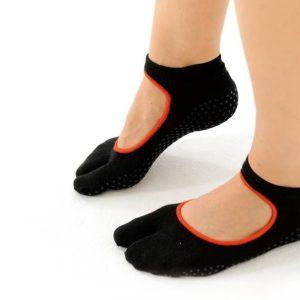 Sokken met antislip van het merk Sissel op yoga-pilatesshop