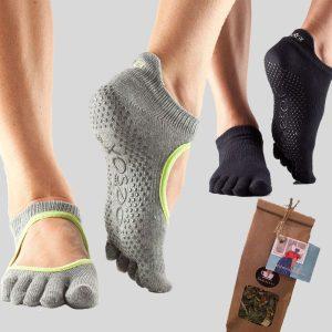 Kadoset Grey In The Mood inclusief twee paar sokken en een verrassingsthee