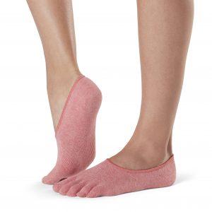 Sok sneaker casual met grip bij de hiel op Yoga-Pilatesshop