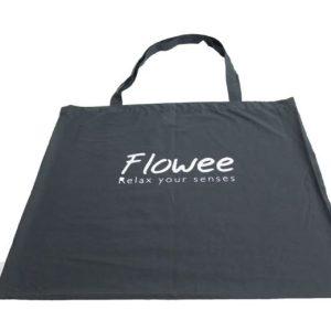 Spijkermat draagtas grijs van het merk Flowee op Yoga-Pilatesshop