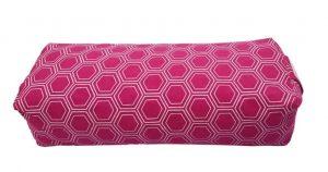 yoga kussen kopen op Yoga-Pilatesshop in klein formaat kleur fuchsia roze