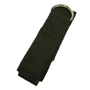 Yoga riem gebruiken? Deze zwarte, voordelige riem zorgt voor een juiste uitlijning en meer flexibiliteit!