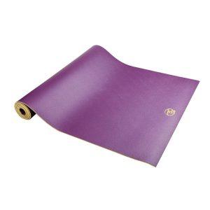 Yoga mat nodig? Deze yoga mat paars is 4 mm dik en biedt een fantastische grip!