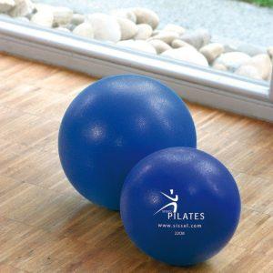 Pilates bal kopen? Soft ball blauw van het merk Sissel shop je op Yoga-Pilatesshop