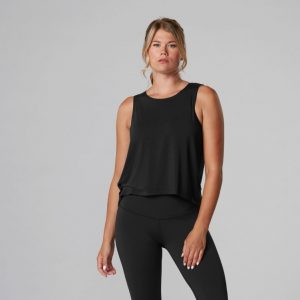 high low tanktop van Tavi Noir dames tanktop Yoga-Pilatesshop