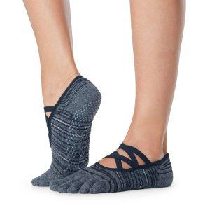 Antislip sokken met tenen diverge van het merk ToeSox online te koop bij Yoga-Pilatesshop!