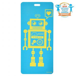 Eco-mat voor kinderen - Pixel de robot