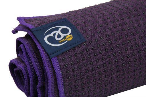 Antislip handdoek voor yoga oefeningen verkrijgbaar bij Yoga-pilatesshop.nl