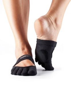 antislip sokken als halve sok is ideaal om te dansen en is direct online verkrijgbaar bij yoga-pilatesshop